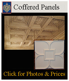 easy to install coffered ceilings