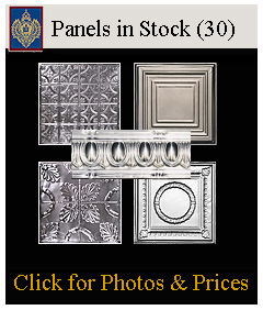 Imperial's tin panels in stock