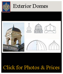 structural domes for building exteriors