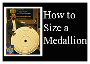 how to size a medallion