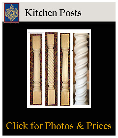 kitchen posts for kitchen tables and bars