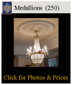 ceiling medallions for vaulted ceilings, plaster medallions