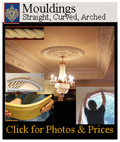 straight, curved and arched mouldings