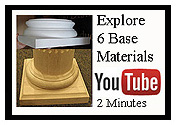 youtube video discover 6 materials for column bases