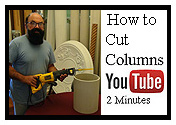Youtube video about cutting columns