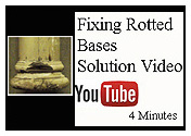 Youtube video about fixing rotted bases